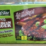 package of black bean burgers from costco