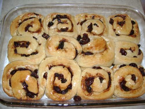 homemade cinnamon rolls