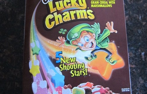 chocolate lucky charms cereal