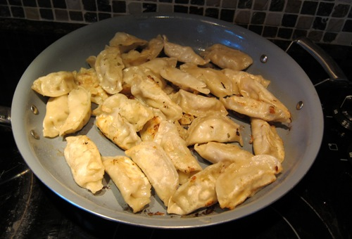 costco ling ling potstickers cooked