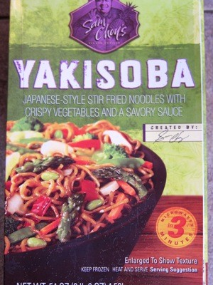 Sam Choy's Yakisoba Noodles Costco Package