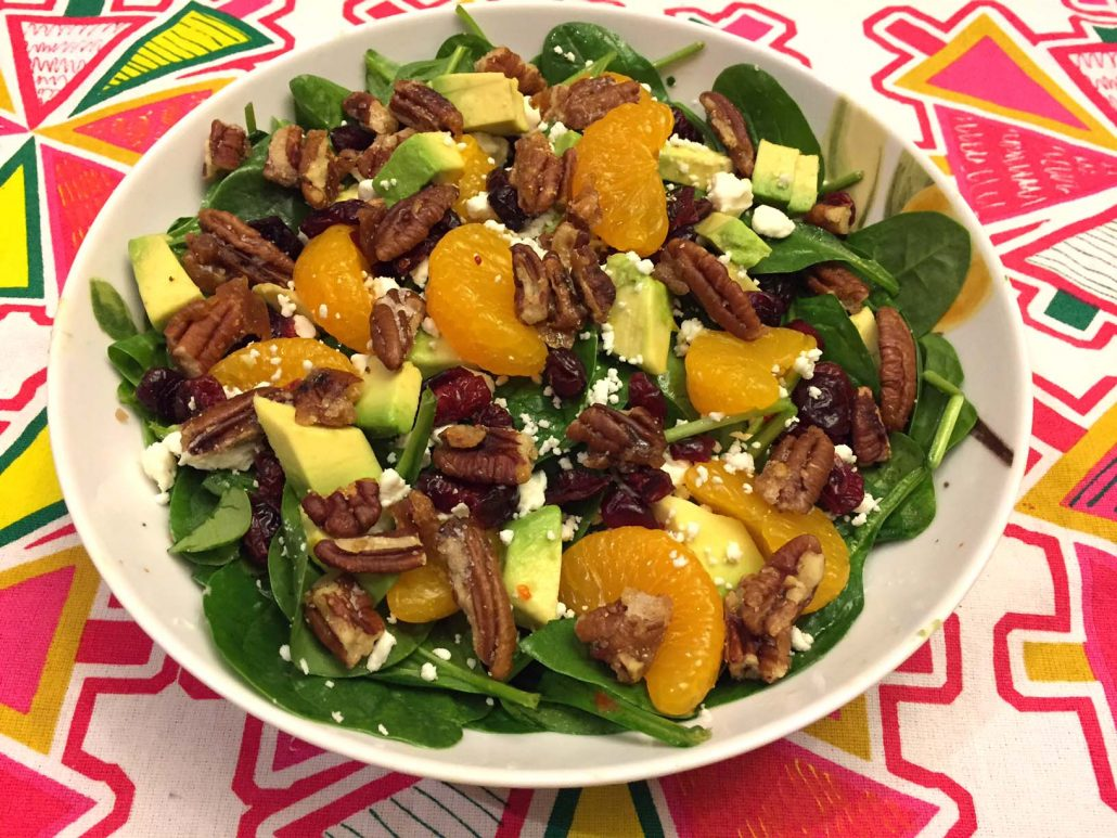 How To Make Spinach Salad With Cranberries