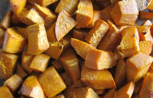 roasted sweet potatoes recipe