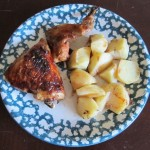garlic bbq oven roasted barbecue chicken
