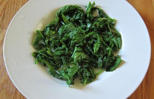 Sauteed Radish Greens Recipe