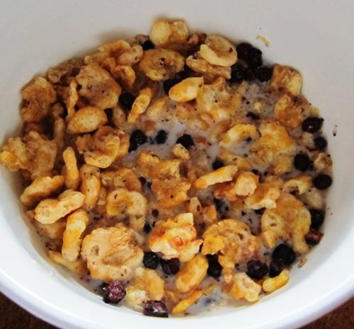kashi indigo morning cereal in a bowl