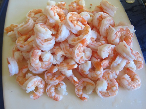 tail off shrimp