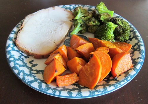 roasted turkey breast from whole foods