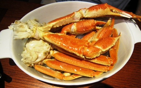 red lobster snow crab legs