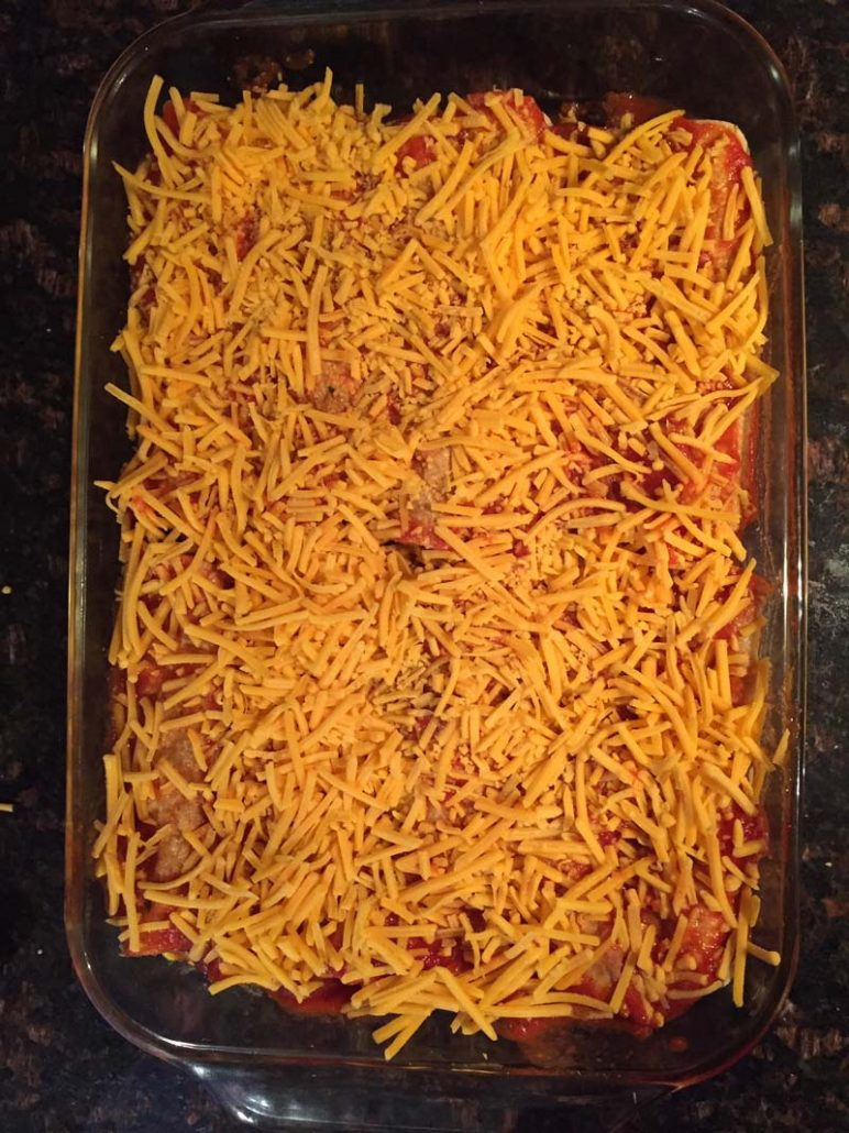 enchiladas shredded cheese