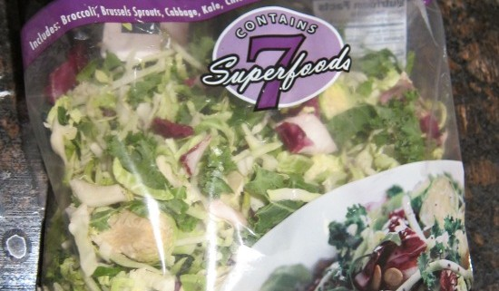 costco sweet kale salad package