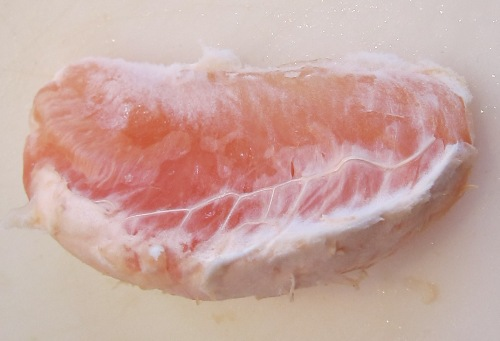 individual grapefruit segment