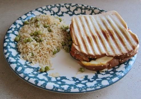 grilled eggplant panini sandwich recipe