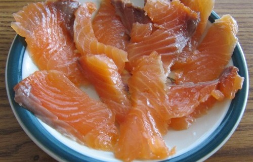 how to make salted salmon recipe