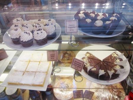simple bakery dessert case