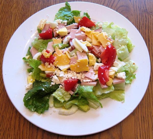 how to make chopped salad recipe