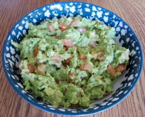 how to make chunky guacamole