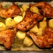 Chicken And Potatoes Sheet Pan Dinner Recipe