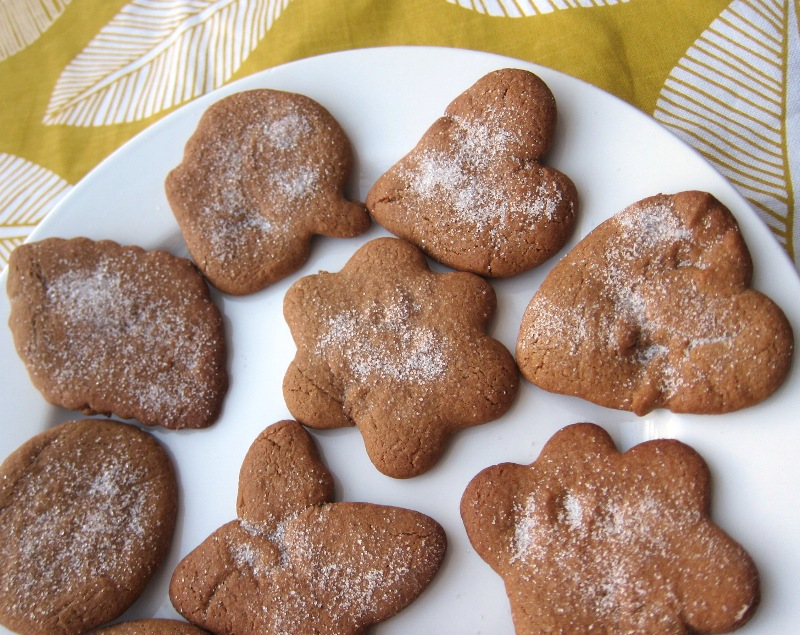 Easy Gingerbread Cookies Recipe Without Molasses Melanie Cooks
