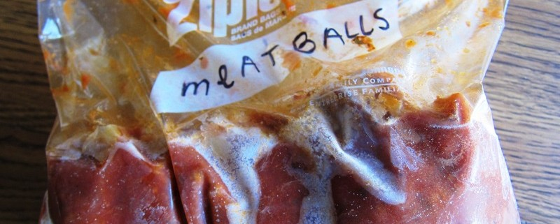 how to freeze meatballs the best way