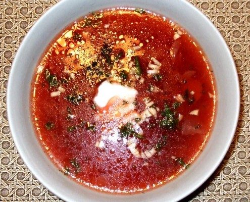 Russian Borscht Beet Soup Recipe