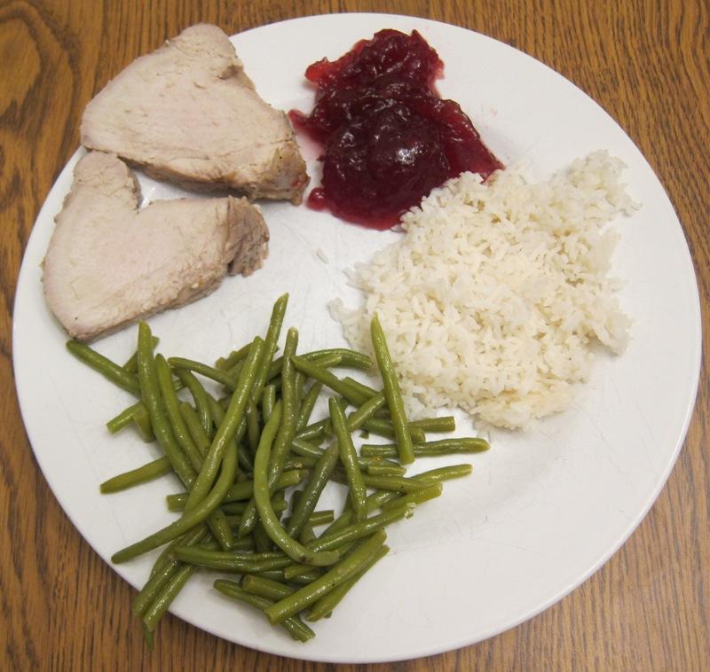 Trader Joe's turkey dinner