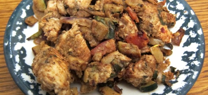 Caribbean Jerk Chicken Stir Fry Recipe