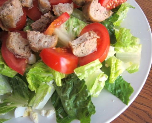 Chopped Salad Recipe With Sausage