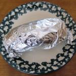 Foil Wrapped Baked Potato Recipe