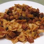 pasta recipe with sausage and zucchini