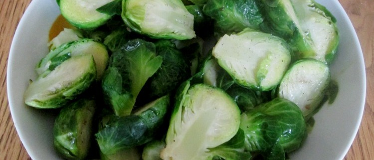 Microwave Cooked Brussel Sprouts Recipe - Yummy And Healthy!