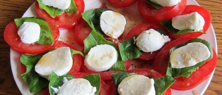 Caprese Salad Tomato Mozzarella Basil