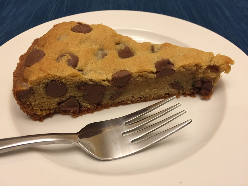 Best Chocolate Chip Cookie Cake Recipe Ever!