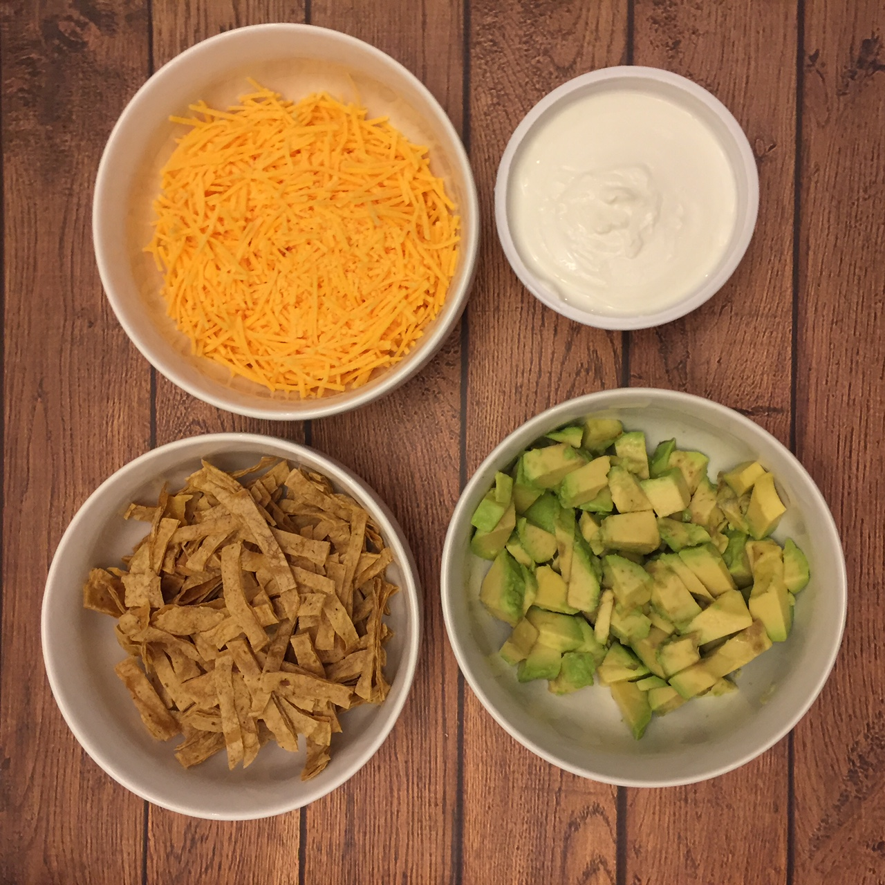 Toppings For Mexican Chicken Tortilla Soup