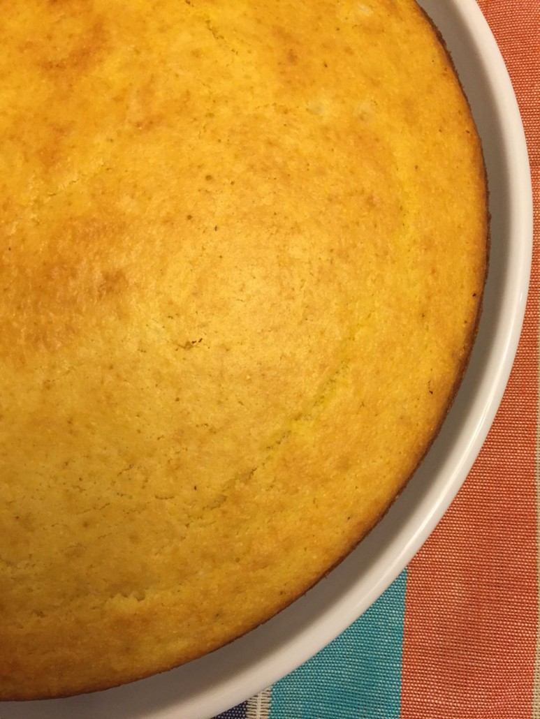Yellow Fluffy Corn Bread Recipe