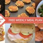 Free Weekly Meal Plan - Week 8