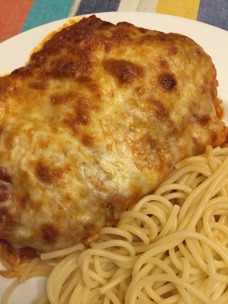 Easy Italian Chicken Parmesan Recipe