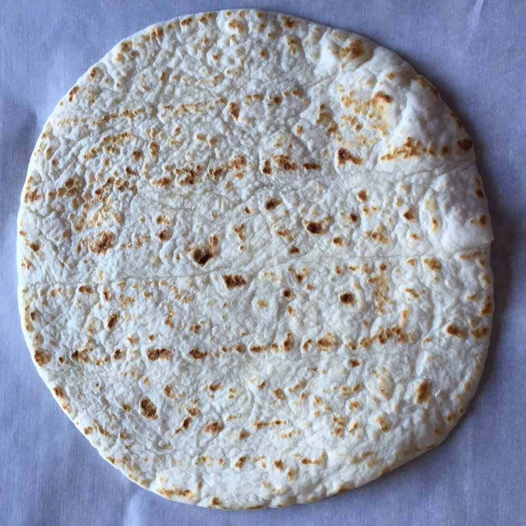 Flour Tortilla To Make A Taco Bowl