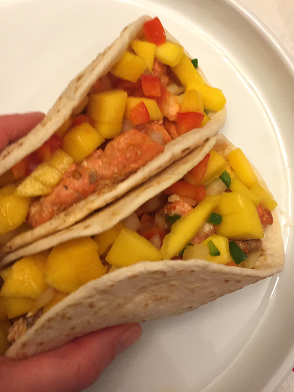 Amazing Fish Tacos Recipe With Mango Salsa!