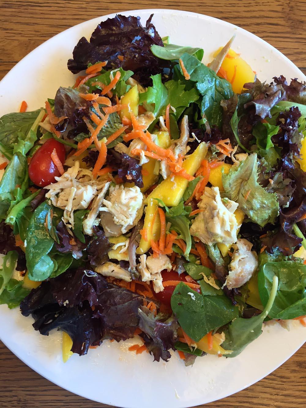Mason Jar Chicken Mango Salad