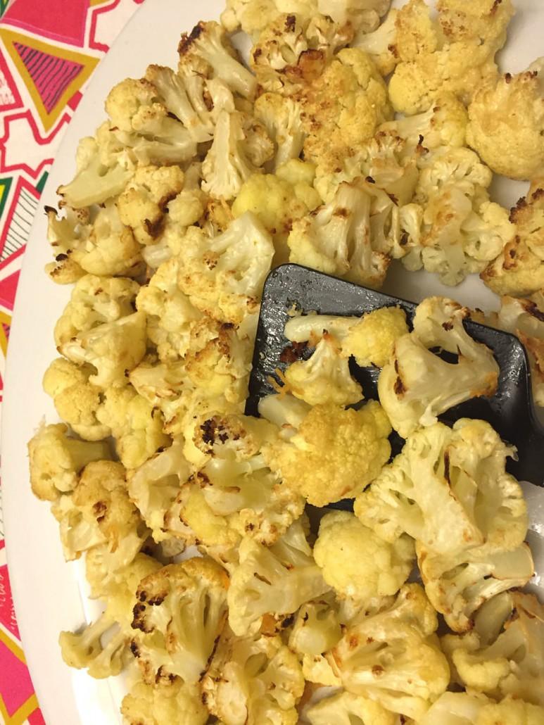 Roasted Parmesan Cauliflower Recipe