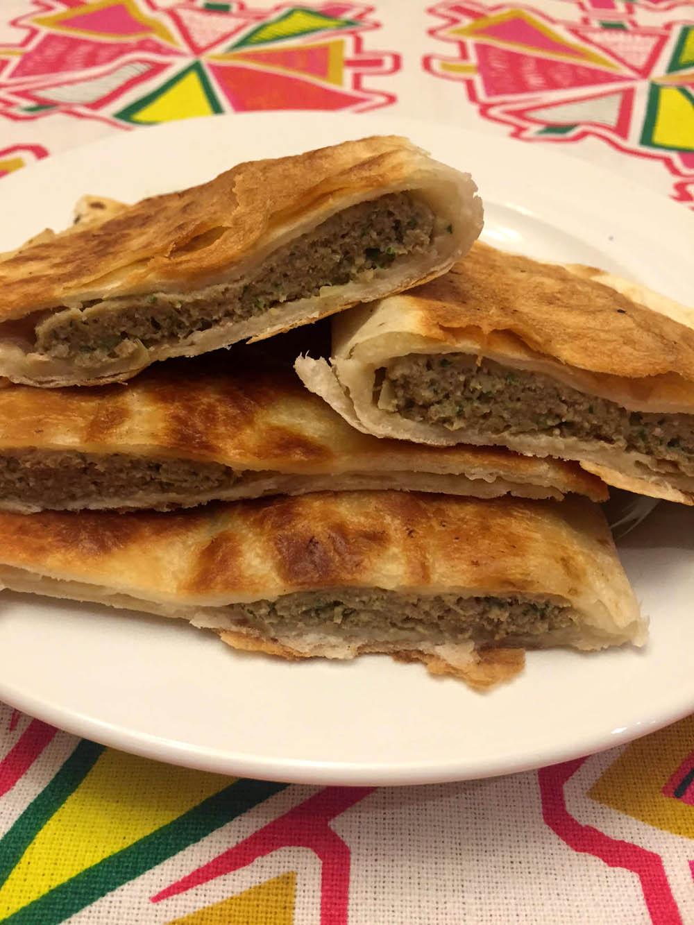 Russian Chebureki Recipe - How To Make Ground Beef Turnovers