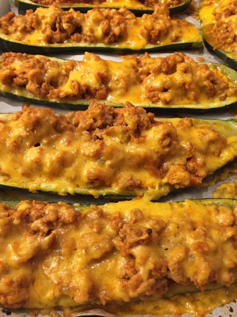 How To Make Baked Stuffed Zucchini Boats