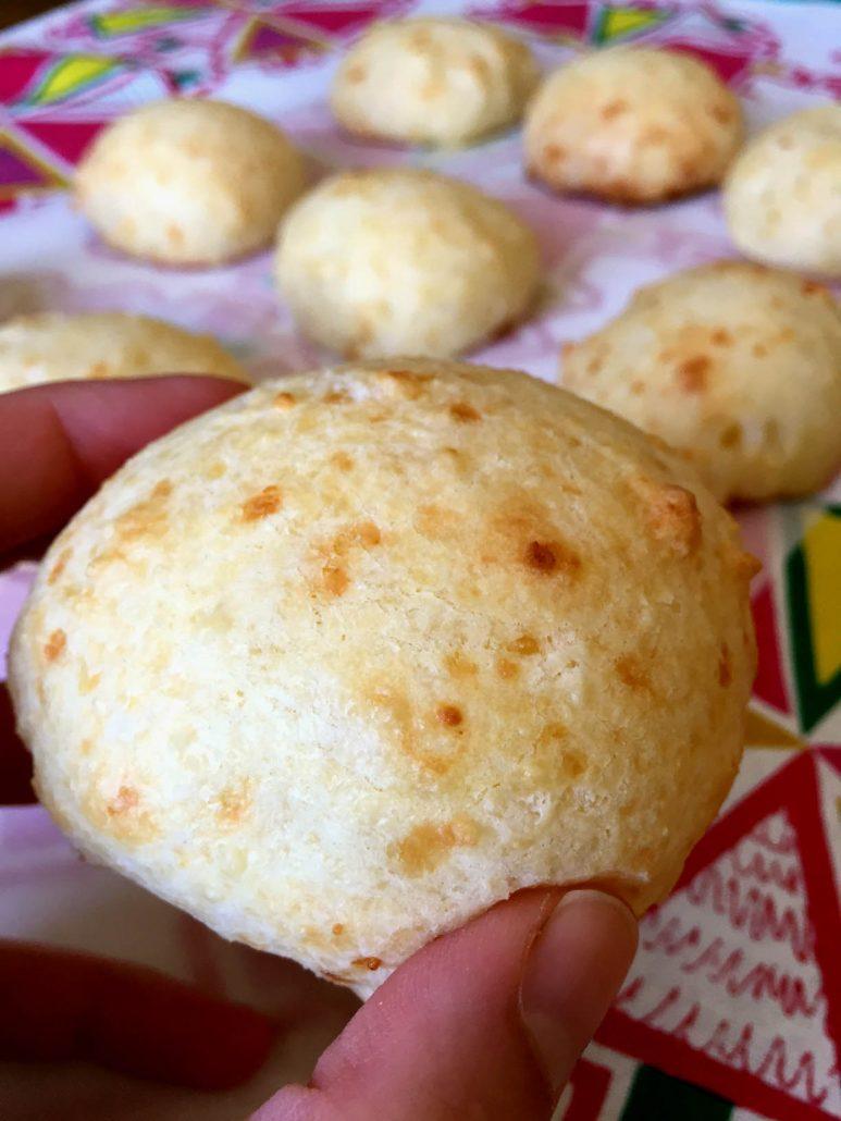 Pao De Queijo - Brazilian Cheese Bread - Gluten-Free!