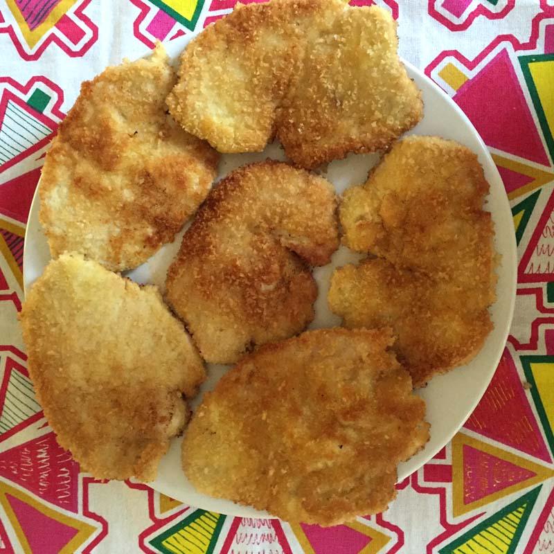 Breaded Turkey Cutlets Recipe
