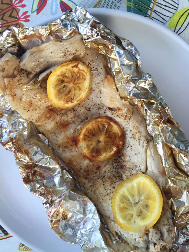 Fish In Foil Packets Recipe