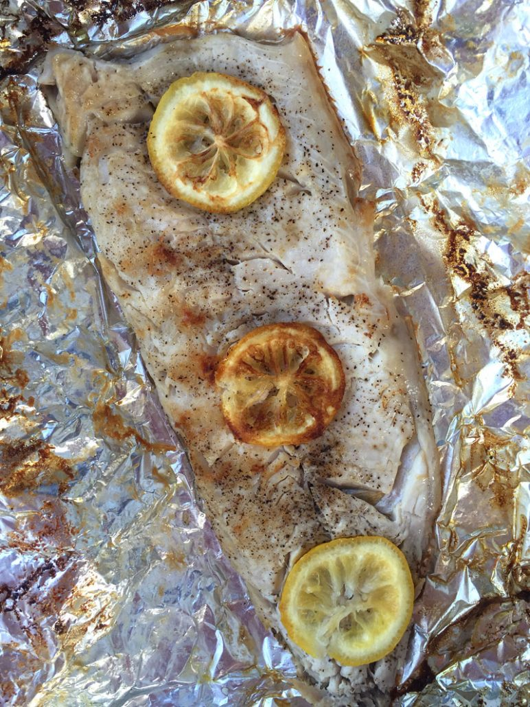 Cooking Fish In Foil