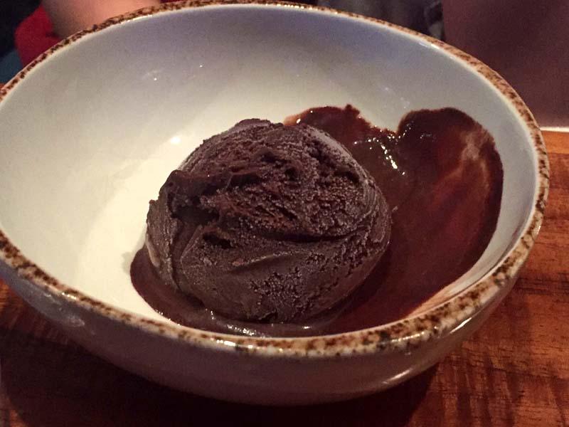 Oceana Chocolate Ice Cream