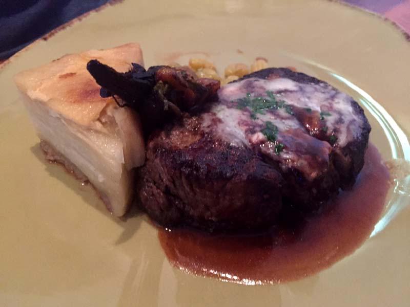 Oceana San Diego steak