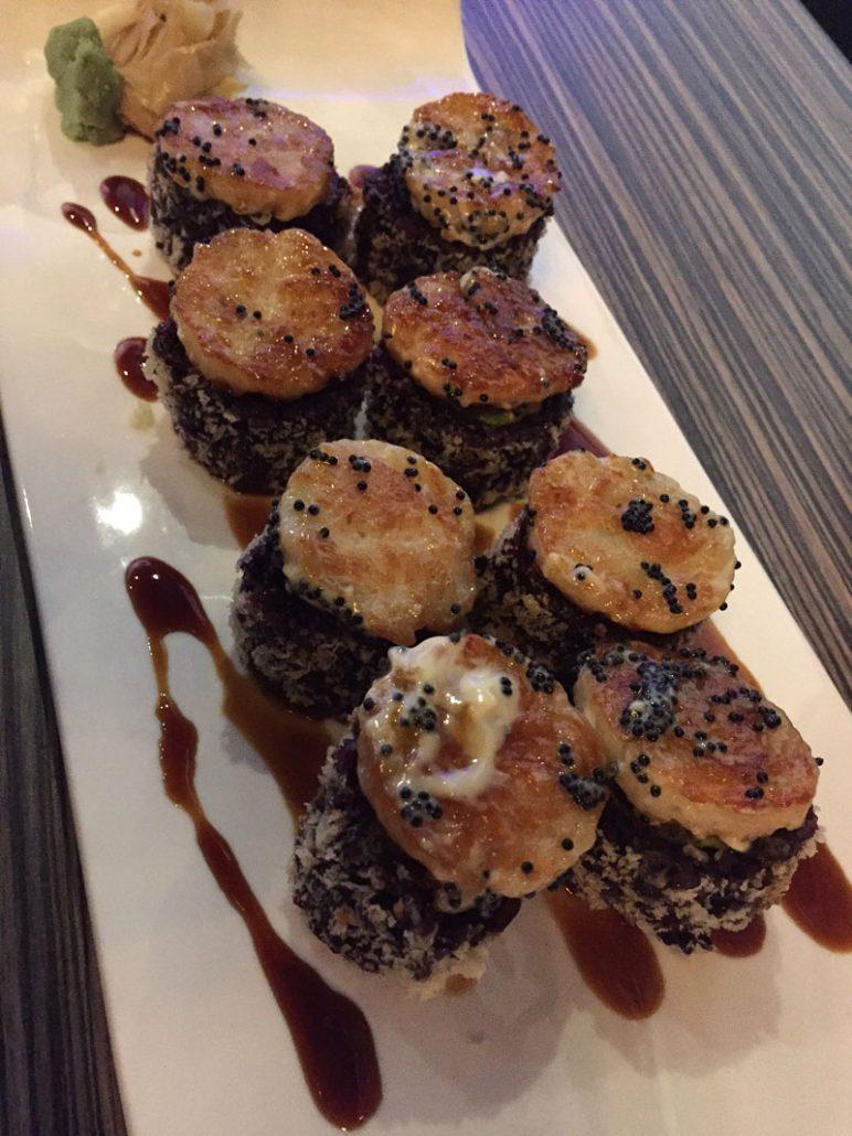 Shakou Sushi Black Widow Roll